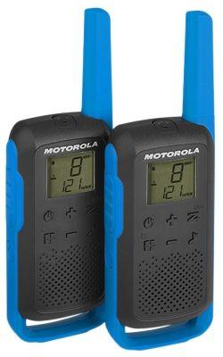 MOTOROLA Walkie-talkie pár TLKR T62, kék
