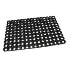 FLOMAT Gumová vstupní čistící rohož Honeycomb - 60 x 40 x 2,2 cm