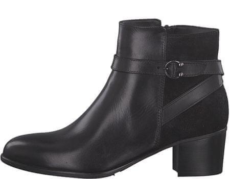 0836996cc Tamaris dámská kotníčková obuv 38 čierna | MALL.SK