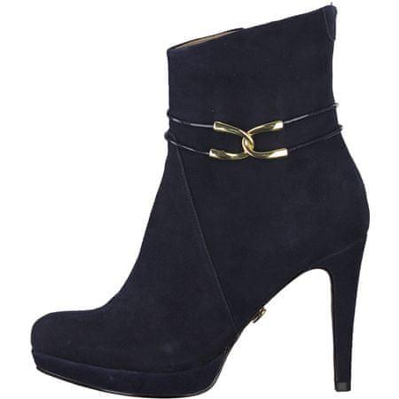 Tamaris dámská kotníčková obuv 38 tmavě modrá