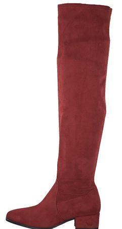 Tamaris kozaki damskie 37 czerwony