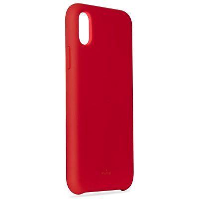 Puro ovitek Icon za iPhone X, rdeč