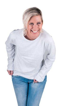 Cerva Bavlnené tričko s dlhým rukávom Cambon melír S