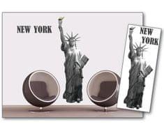 Dimex Dekoračné nálepky na stenu New York - 65 x 165 cm