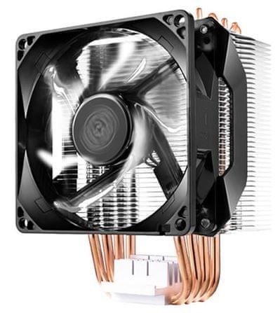 Cooler Master hladilnik za procesor Hyper H411R, bela LED