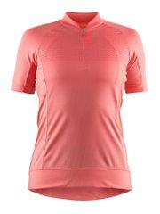 Craft ženska kolesarska majica Rise Jersey, roza