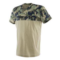 Dainese pánske tričko s krátkym rukávom CAMO-TRACKS army