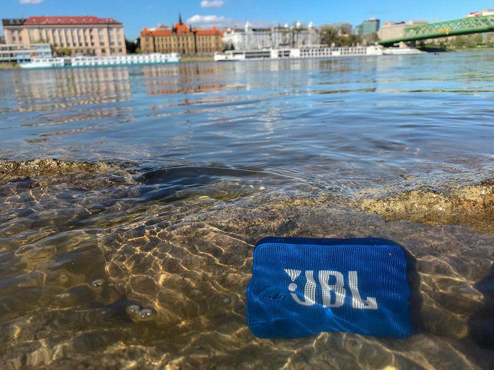 Vezeték nélküli JBL GO 2, IPX7 vízálló burkolattal