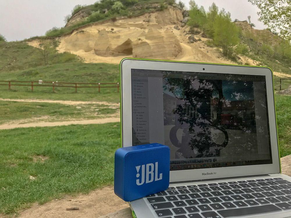 Bezdrátový reproduktor JBL GO 2 výdrž baterie 5 hodin