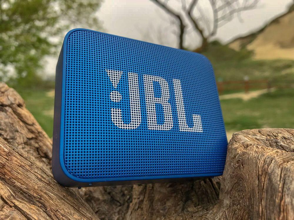 Vezeték nélküli hangszóró JBL GO 2 új IPX7 tokkal