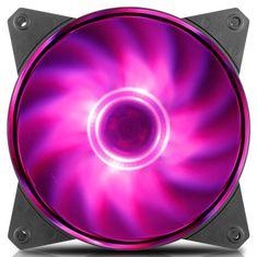 Cooler Master ventilator za ohišje MasterFan MF121L RGB, 120 mm