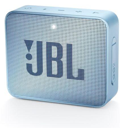 JBL Go 2 zvočnik, svetlo moder