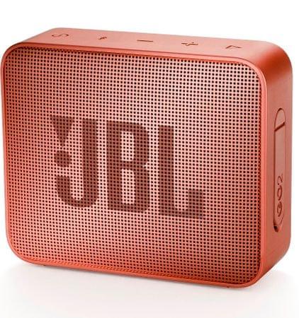 JBL Go 2 zvočnik, opečno rdeč