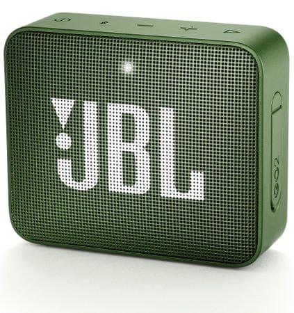 JBL Go 2 zvočnik, temno zelen