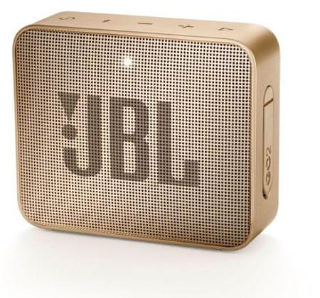 JBL Go 2 zvočnik, šampanjec