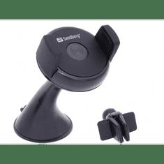 Sandberg avtomobilski polnilnik in stojalo za mobilnik Wireless QI