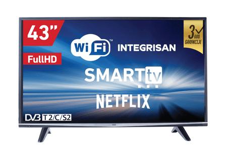 VOX electronics LED TV sprejemnik 43SWB471B (Smart)