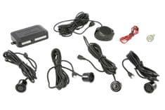 M-Tech Parkovací asistent, zadný, farba čierna, priemer senzorov 18 mm, akustický signál