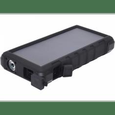 Sandberg prenosna baterija Outdoor Solar Powerbank 24000, črna