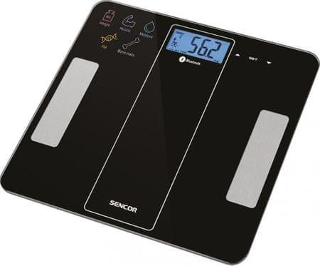 SENCOR osobná váha SBS 8000BK čierna