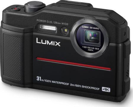 Panasonic digitalni fotoaparat Lumix DC-FT7, črn
