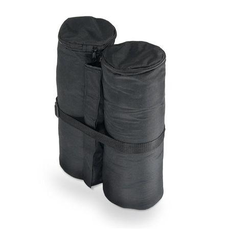 Jom vreča za obtežitev paviljona, 4 kom, črna