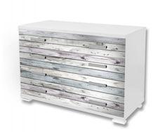 Dimex Nálepky na nábytok - Drevené dosky šedé, 85 x 125 cm