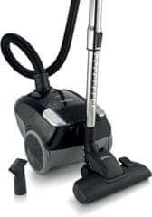 Gorenje usisavač Compact midi VCEA11CMBK, crni