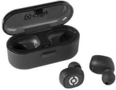 Celly True Wireless sluchátka CELLY TWINS, multipoint, černá BHTWINSBK