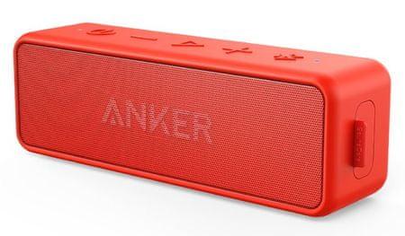 Anker zvučnik SoundCore 2, crveni