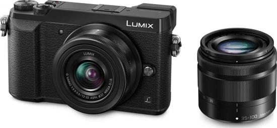 PANASONIC Lumix DMC-GX80 +12-32 + 35-100 mm Black (DMC-GX80WEG-K)