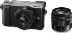 Panasonic aparat Lumix DMC-GX80 +12-32 + 35-100 mm (DMC-GX80WEG)