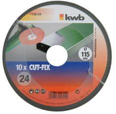 KWB brusni disk za metal CUT-FIX (715824), GR 24
