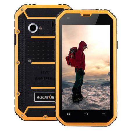 Aligator RX460 eXtremo, 16GB, IP68, černo-žlutý