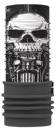 BUFF tuba Polar Skull Rider Multi, Black