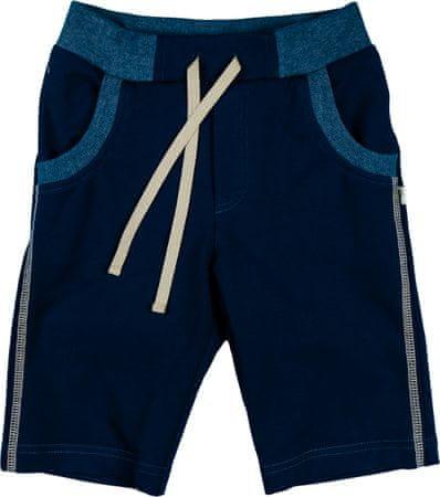 MMDadak chlapčenské kraťasy Hipster 116 modrá