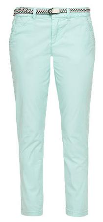 s.Oliver dámské kalhoty 40 tyrkysová