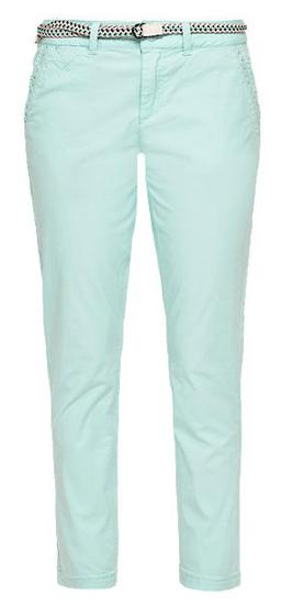 s.Oliver dámské kalhoty 42 tyrkysová
