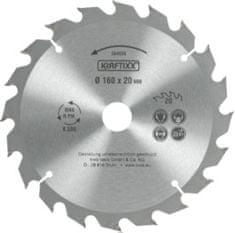KWB žagin list, 160 x 20 mm, 20Z, HM (584559)