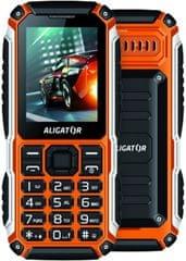 Aligator R30 eXtremo, Dual SIM, IP68, oranžovo-čierny