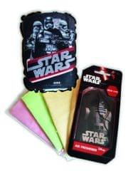 KAJA Darčekový set, súprava do auta, 5 ks, motív Star Wars, špongia Kapitán Phasma, vôňa New Car