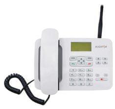 Aligator T100 (stolní GSM telefon), biely