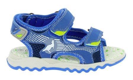 fa11ed900c Canguro chlapčenské sandále 35 modrá