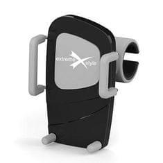 EXTREME STYLE Držiak telefónu, úchyt vo vetracej mriežke, rozpätie 50 - 95 mm
