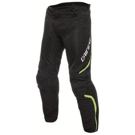 Dainese nohavice na motorku pánske DRAKE AIR D-DRY vel.44 čierna/fluo žltá, textil