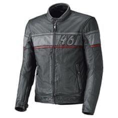 Held pánská kožená moto bunda  STONE antracit/červená