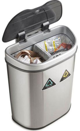 VonHaus koš za odvajanje smeća, 70 l