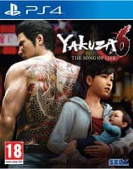 Sega Yakuza 6 Song of Life - Launch Edition PS4