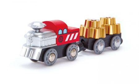 Hape lokomotywa z ładunkiem