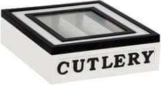 TimeLife drewniane pudełko na sztućce